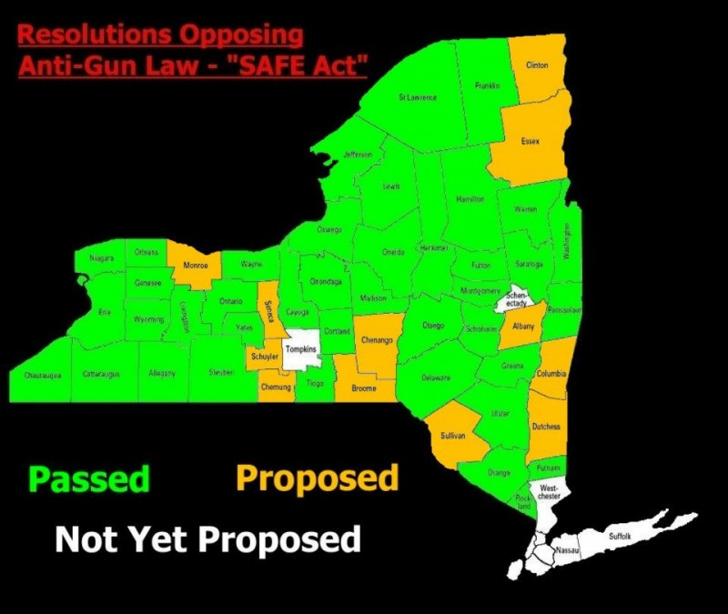 Resolutions Opposing the NY SAFE Act