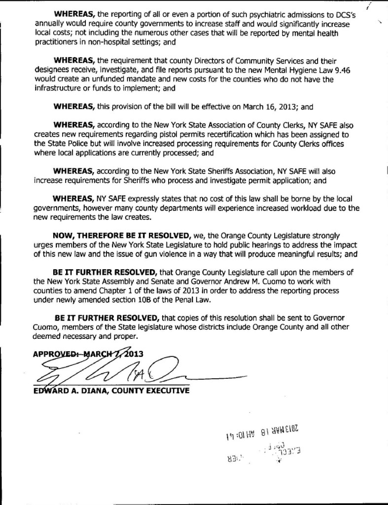 Orange County resolution 3